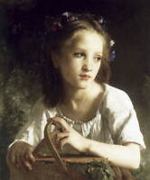 William Adolphe Bouguereau Untitled Giclee Art Paper Print Poster Reproduction