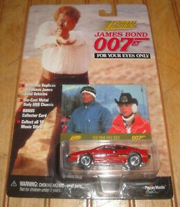 Johnny Lightning James Bond 007 For Your Eyes Only Lotus Esprit Diecast Car NIP
