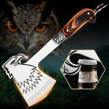 Camping Axt Beil Survival Hatchet Taktisches Tomahawk Wurfwerkzeug Fester Klinge