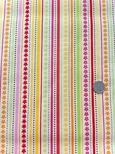 Ladybug Garden Stripe Fabric by Riley Blake in Fat Quarters