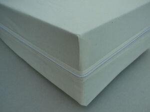 Doppelpack (2 Stück) Matratzenbezug Matratzenbezüge 90 x 200 cm  -  kochfest NEU