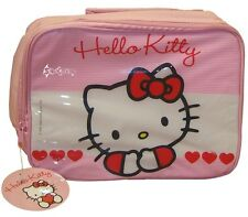 Hello Kitty Girls Pink Sweetheart Insulated Lunch Bag School