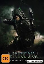 Arrow : Season 6 (DVD, 2018, 5-Disc Set) Brand New Sealed Region 4