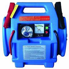Large 12V 900A Car Van Battery Jump Starter Start Booster Compressor 3 LED Power