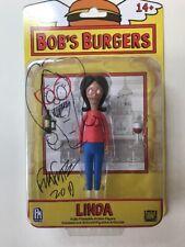 Bob's Burgers Linda Belcher Toy Action Figure New Signed & Sketched