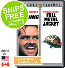 Shining / Full Metal Jacket Double Feature (DVD, 2012) NEW, Stanley Kubrick