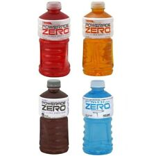Powerade Zero VARIETY Sports Drink 0 Calorie 32 Fl Oz (Pack of 10)