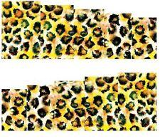 Nail Art Pegatinas Transfers Calcomanías Leopardo (A-109)