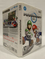 Mario Kart Nintendo Wii Video Game Racing Complete With Instruction Manual