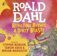 Revolting Rhymes and Dirty Beasts by Roald Dahl (CD-Audio, 2016)