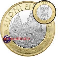 5 Euro Commémorative Finlande 2015 - Province Tavastia Lynx