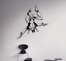 Deadpool Wall Vinyl Decal Comics Superhero Vinyl Sticker Home Wall Art Decor 2