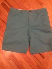"""NWT BANANA REPUBLIC City Shorts Straight 11"""" Inseam Blue Harmony Size 36 NEW"""