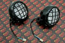 2 x New Headlights Yamaha Banshee 1987-2006 lens bulbs lights grills Warrior
