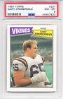 -HOF- 1987 -Gary Zimmerman- PSA 8 Topps Vikings Football Rookie Card - RC. rookie card picture