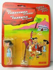 "The Flintstones in action Betty Vintage Action Figure MIP 3.5"" D-Toys IRWIN"