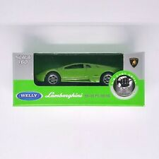 modello di auto 1:18//Welly LAMBORGHINI MURCIELAGO 2003 giallo metallizzato