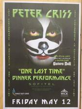 KISS - Peter Criss - One Last Time Tour Street Poster New