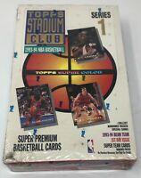 SEALED 1993-94 TOPPS STADIUM CLUB NBA Basketball Series 1 BOX Beam Team 24 Packs