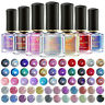 6ml BORN PRETTY Silver Pink Holographicss Nail Polish  Laser Varnish Tips
