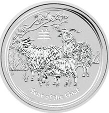 2 oz Perth Mint Year of the Goat 2015 - Lunar Goat - Best price!!!