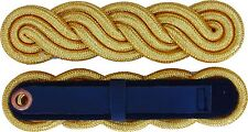 UK ROYAL NAVY CORD EPAULETS SHOULDER BOARDS GOLD WIRE LOWEST PRICE