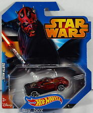 Hot Wheels Disney Star Wars Character Car - Darth Maul