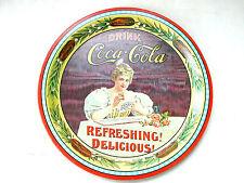 COCA COLA® PLATEAU METAL 1976 USA 75 ANS 1901-1976 N° 18098