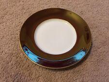 "Jaune De Chrome Plate Limoges China NWT Porcelain Tango & Gold 10.5"" Dinner"