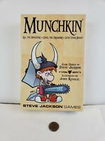 Munchkin Card Game by Steve Jackson Games! Box Opened but cards still sealed
