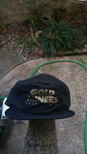 VTG 90'S SACRAMENTO GOLD MINERS CFL PAINTER SNAPBACK HAT NOS