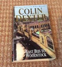 Last Bus to Woodstock by Colin Dexter (Paperback, 1977)