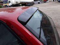 For BMW E30 Pfeba Touring roof carbon spoiler rear door trim lip Valance addon