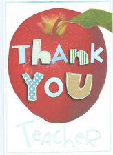 Various Thank You Teacher Cards - NEW