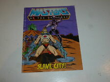 "MASTERS OF THE UNIVERSE ""He-Man"" Mini Comic - Slave City! - Mattel Comic"