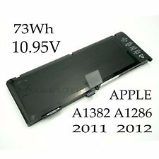 Battery for Apple MacBook Pro 15'' Unibody A1382 MC721LL/A MC723LL/A A1286