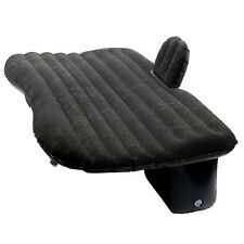 Car Travel Seat Sleep Rest Mattress Air Bed Camping & Two Air Pillows-Black US
