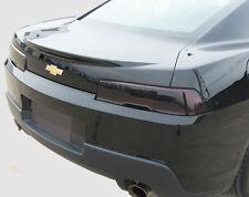 14-15 CAMARO smoked tinted precut vinyl tail light covers 5 piece kit $5 refund