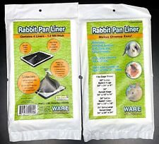 Rabbit Cage Pan Liner Large Size by Ware Manufacturing - 4 liners Per bag