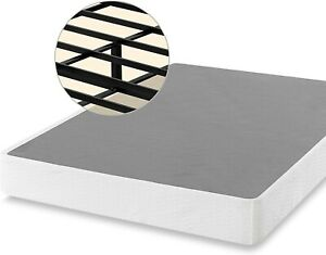 Zinus OLB-ABS-9F 9in Full Size Box Spring Mattress Foundation - Black/White