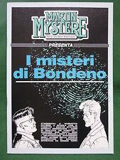 Martin Mystère presenta 'I misteri di Bondeno', Ed. Bonelli/InterBooks