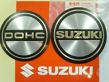Genuine Suzuki Engine Case Emblem Set Left Right DOHC SUZUKI GS750 GS850 GS1000