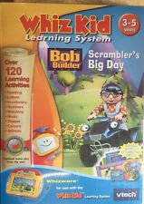 vtech Whiz Kid Learning System Bob The Builder Scramblers Big Day