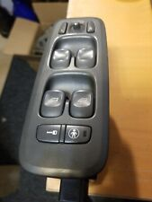 02-08 VOLVO S60 S80 V70 XC90 LEFT FRONT MASTER WINDOW SWITCH DARK GREY COLOR
