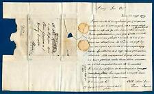 ITALIA - LOMBARDO VENETO - 1835 - Prefilatelica da Vestova a Brescia
