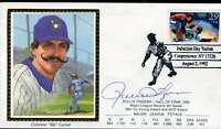 Rollie Fingers Hof Jsa Cert Sticker Fdc First Day Cover Authentic Autograph
