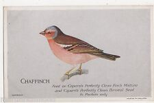 Chaffinch, Capern's Advertising Card, B558