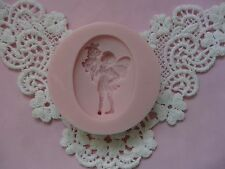 Sweet Angel Brooch Cameo silicone mold fondant cake decorating APPROVED FOR FOOD