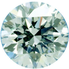 1.15ct vvs1/7.11mm WHITE ICE BLUE COLOR ROUND LOOSE REAL MOISSANITE 4 RING