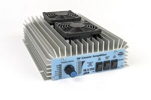 RM HLA150V Plus - 1.8-30MHz (150W) HF Amplifier With Fans